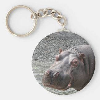 Saucy Hippo! Key Ring
