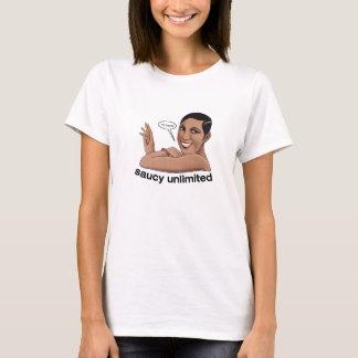 Saucy Unlimited Flirty Flapper T-Shirt