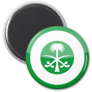 saudi_arabia 6 cm round magnet