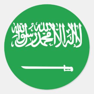 Saudi Arabia Classic Round Sticker