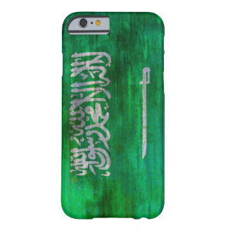 Saudi Arabia distressed Saudi Arabian flag Barely There iPhone 6 Case