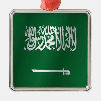 Saudi Arabia flag Christmas Ornament