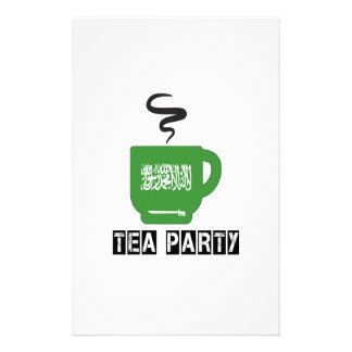 Saudi Arabia Flag Designs Stationery