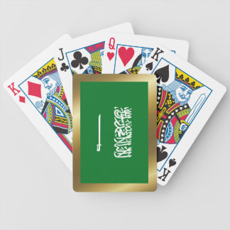 Saudi Arabia Flag Playing Cards