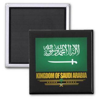 Saudi Arabia Flag Square Magnet