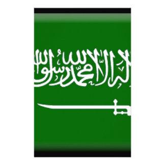 Saudi Arabia Flag Stationery Design