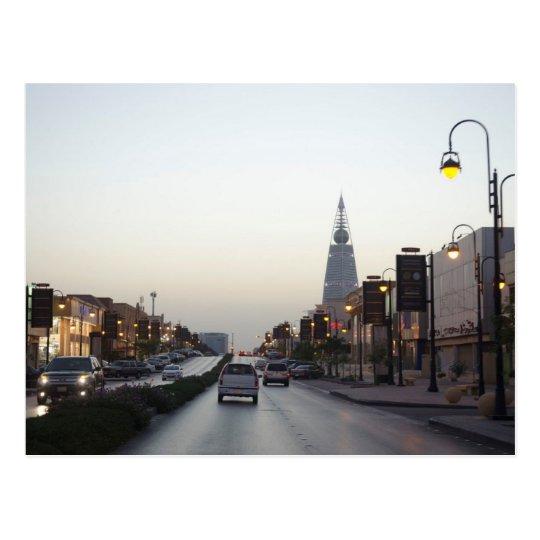 Saudi Arabia - One The Road Postcard