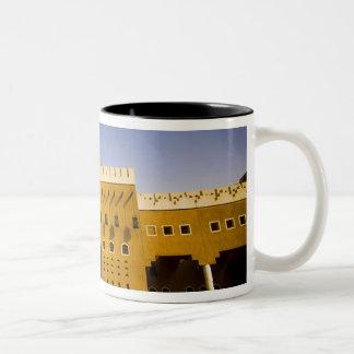 Saudi Arabia, Riyad, Mosque of Al Diriya Two-Tone Mug