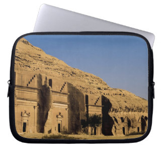Saudi Arabia, site of Madain Saleh, ancient 2 Laptop Sleeve