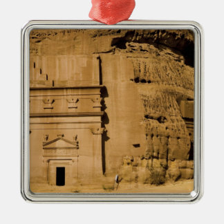 Saudi Arabia, site of Madain Saleh, ancient 3 Christmas Ornament
