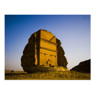 Saudi Arabia, site of Madain Saleh, ancient 4 Postcard