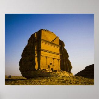 Saudi Arabia, site of Madain Saleh, ancient 4 Poster