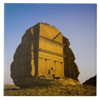 Saudi Arabia, site of Madain Saleh, ancient 4 Tile