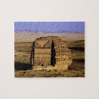 Saudi Arabia, site of Madain Saleh, ancient Jigsaw Puzzle