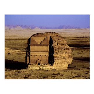 Saudi Arabia, site of Madain Saleh, ancient Postcard