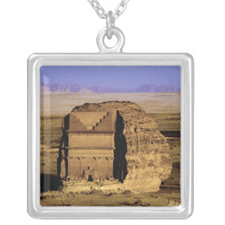 Saudi Arabia, site of Madain Saleh, ancient Silver Plated Necklace