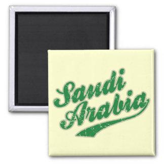 Saudi Arabia Square Magnet