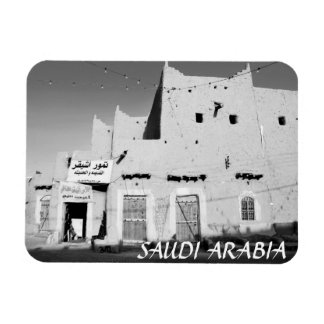 Saudi Arabia Ushaiger Village Fridge Magnet