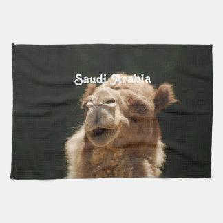 Saudi Arabian Camel Tea Towel