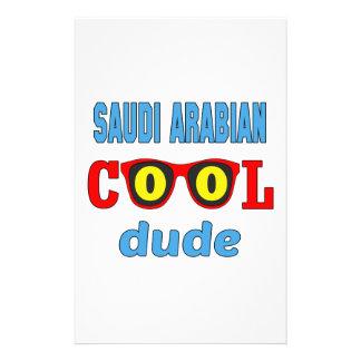 Saudi Arabian Cool Dude Stationery