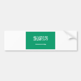 Saudi Arabian Flag Bumper Sticker