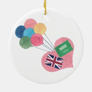 saudi-british circle ornament
