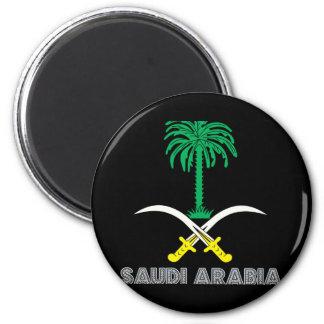 Saudi Emblem Magnet