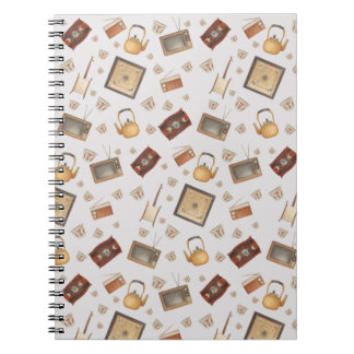 saudi Traditional items Spiral Notebook