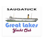 Saugatuck Douglas Michigan Yacht Club Great Lakes Post Card
