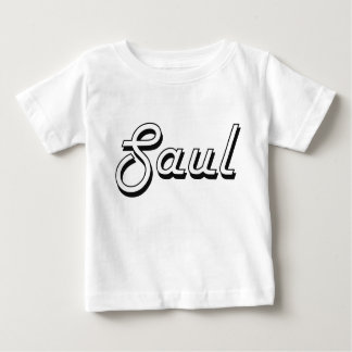 Saul Classic Retro Name Design Tee Shirts