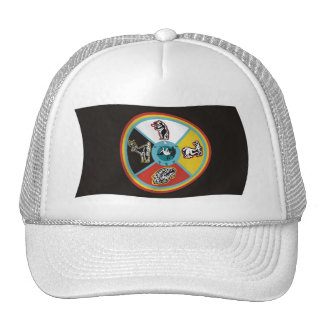 Sault Ste. Marie Tribe Flag Hat
