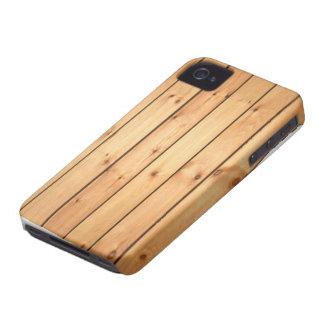 Sauna Wood Panels iPhone 4 Covers