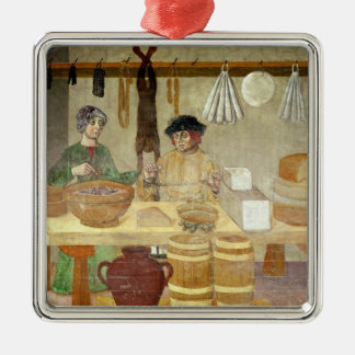 Sausage and Cheese Sellers Christmas Ornament