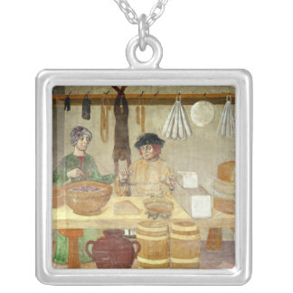 Sausage and Cheese Sellers Custom Necklace