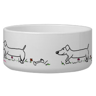 Sausage Dog, Dog Bowl
