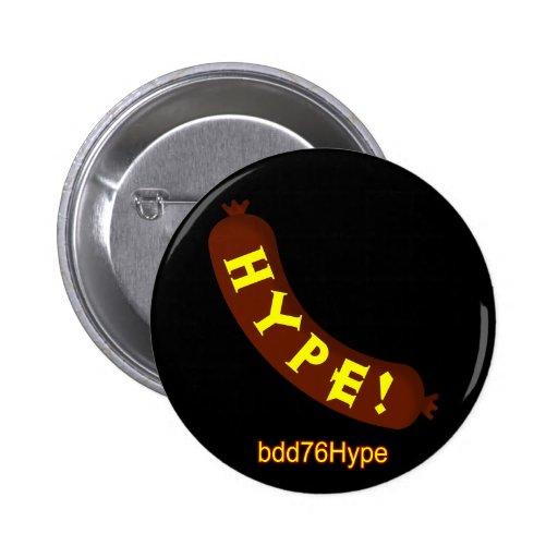 Sausage Hype! bdd76Hype Badge Badges