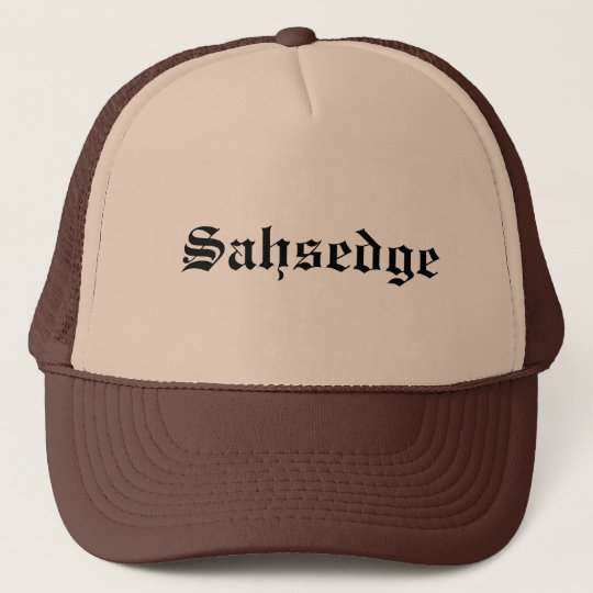 Sausage like you mean it! cap