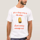 Sausage roll t-shirt