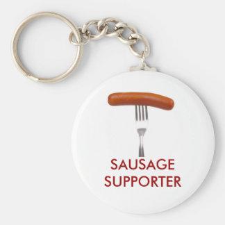 sausage stuck in fork key ring