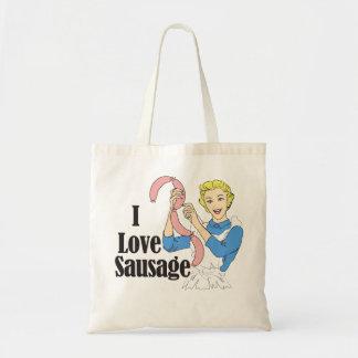 Sausage Budget Tote Bag