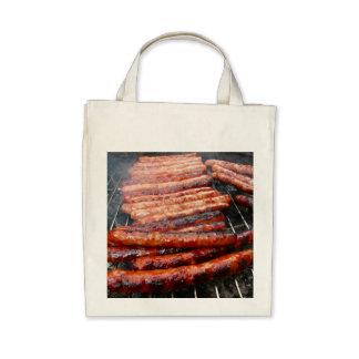 sausages tote bags