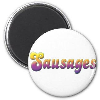 Sausages Fridge Magnets