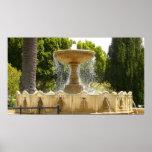 Sausalito Fountain California Travel Photography Poster