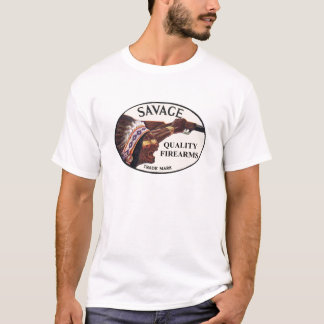 Savage Arms - Screaming Indian - Front T-Shirt