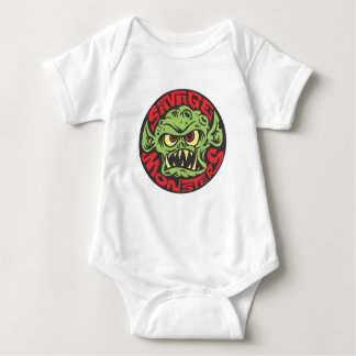 Savage Monsters Logo Baby Bodysuit