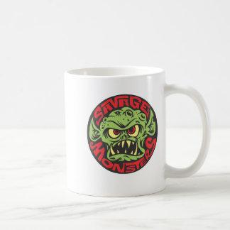 Savage Monsters Logo Basic White Mug