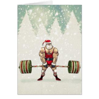 Savage Santa Greeting Card