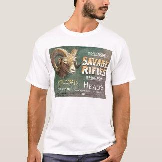 Savage Sheep Head T-Shirt