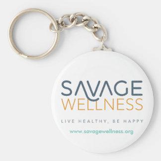 Savage Wellness Keychain