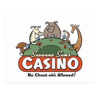 Savanna Casino Post Cards